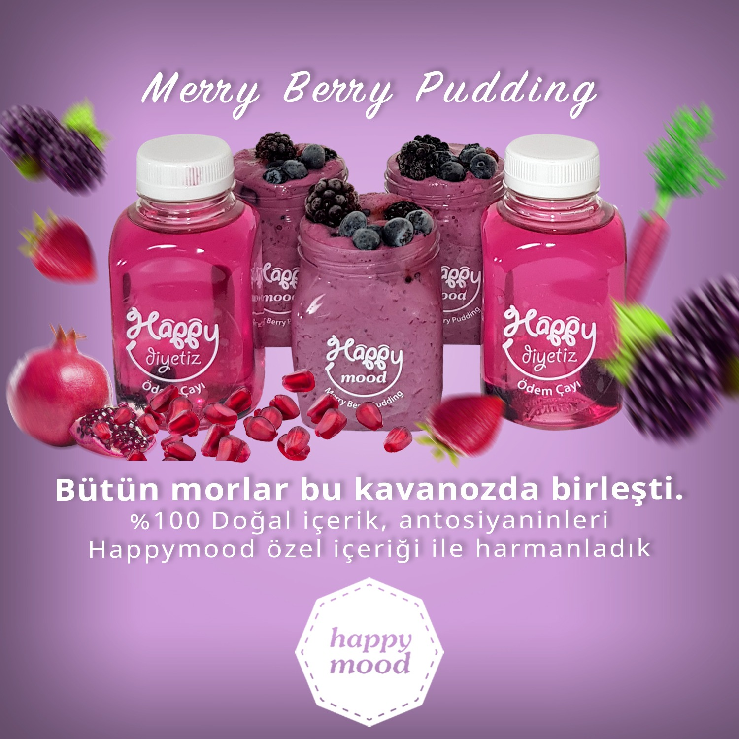 Merry Berry Pudding